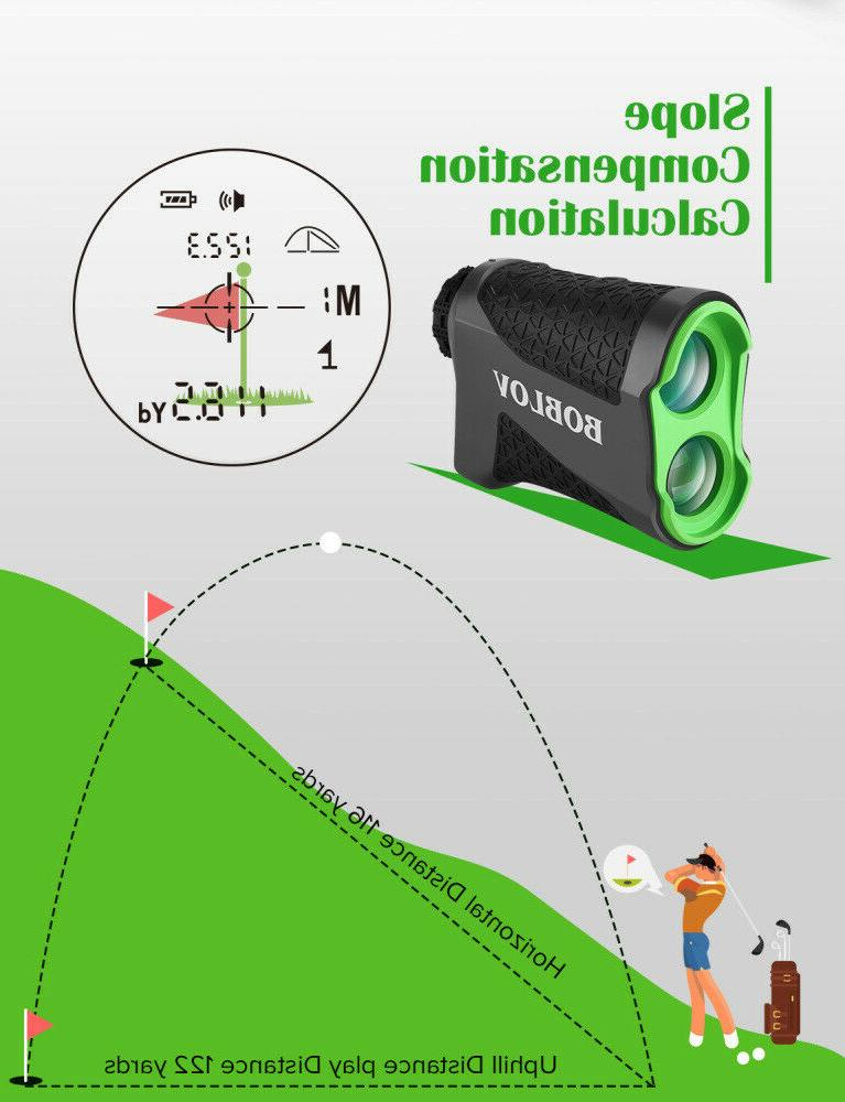 BOBLOV 650 Yards Golf Laser Range Finder Jolt