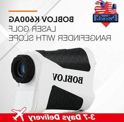 k600ag boblov 6x magnification laser golf rangefinder