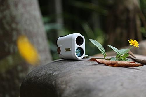 KOLSOL New Age 6.5X Laser Distance Range Finder Golf Rangefinder Perfect Hunting, Golfer, Engineering Ultra & Accurate, Yards Range