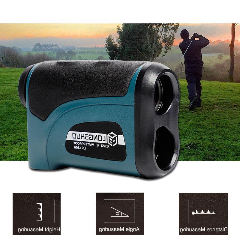 Laser <font><b>rangefinder</b></font> 1200m Distance Meter tool