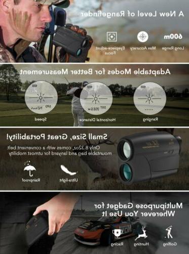 Fnova Laser Golf 600 yards Hunting