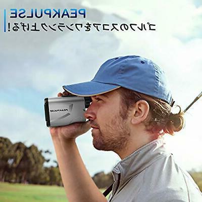 Laser rangefinder finder distance golf scope gol