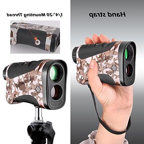 Gosky Rangefinder Hunting Range Model Using
