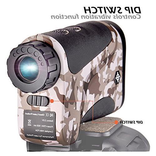 Gosky Rangefinder Range Model for Hunting, Outdoor