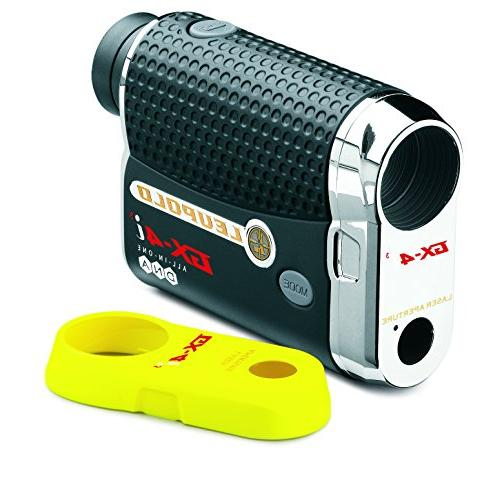 Leupold Golf Rangefinder Gift Box I Includes Golf Rangefinder, Case, Magnetic Golf Mount, Towel and Two Batteries | Gift Red