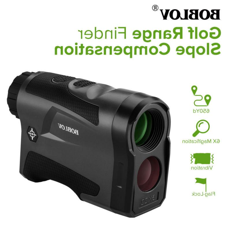 BOBLOV Golf Hunting Range Finder With Compensation