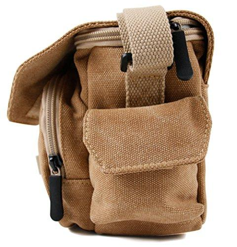 DURAGADGET Light Brown Sized Bag Golf Range Finder