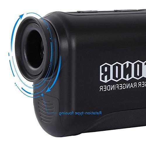 TONOR Finder with Pinsensor/Binoculars, Resistant/Free Hunting Outdoor Black