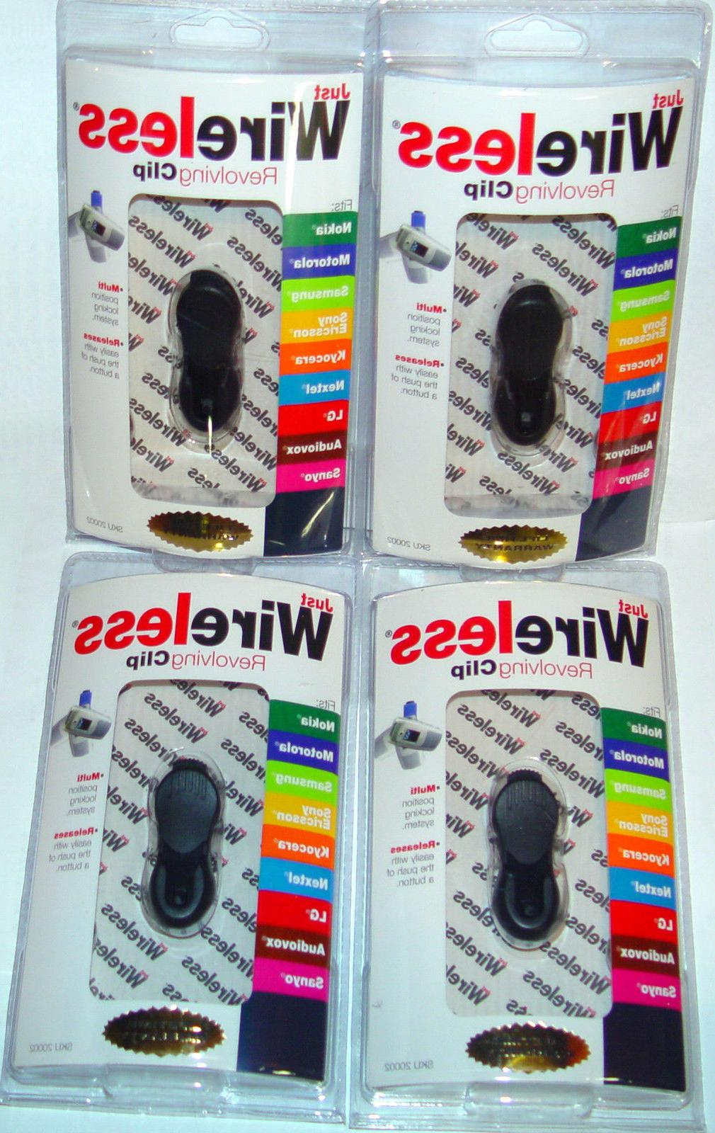 lot of 4 belt clip mount