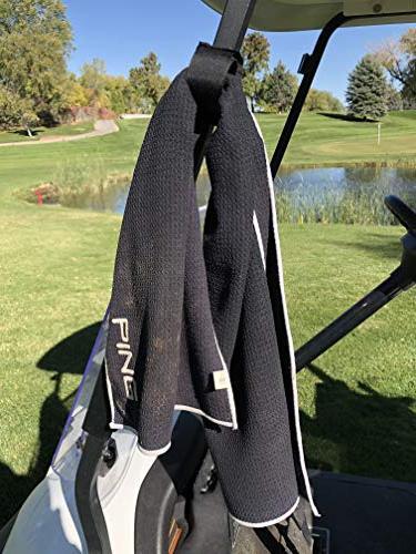 Bushwhacker Multi Mount Golf Railing Rangefinder GPS Bar Quick Case Range Finder Easy Stick Towel