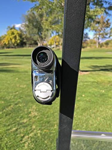 Bushwhacker Mount for Golf Rangefinder Bar Case Range Finder Strap Stick Towel