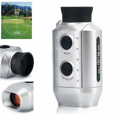 New Digital Pocket Zoom Golf Magnification Distance Measurer