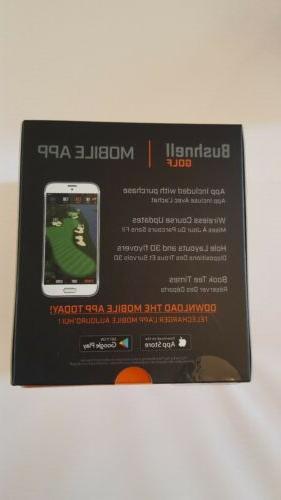 New NEO ION GPS Rangefinder Watch - Silver/Green
