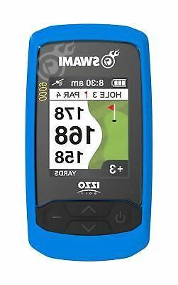 New Izzo Golf- Swami 6000 GPS Unit Blue