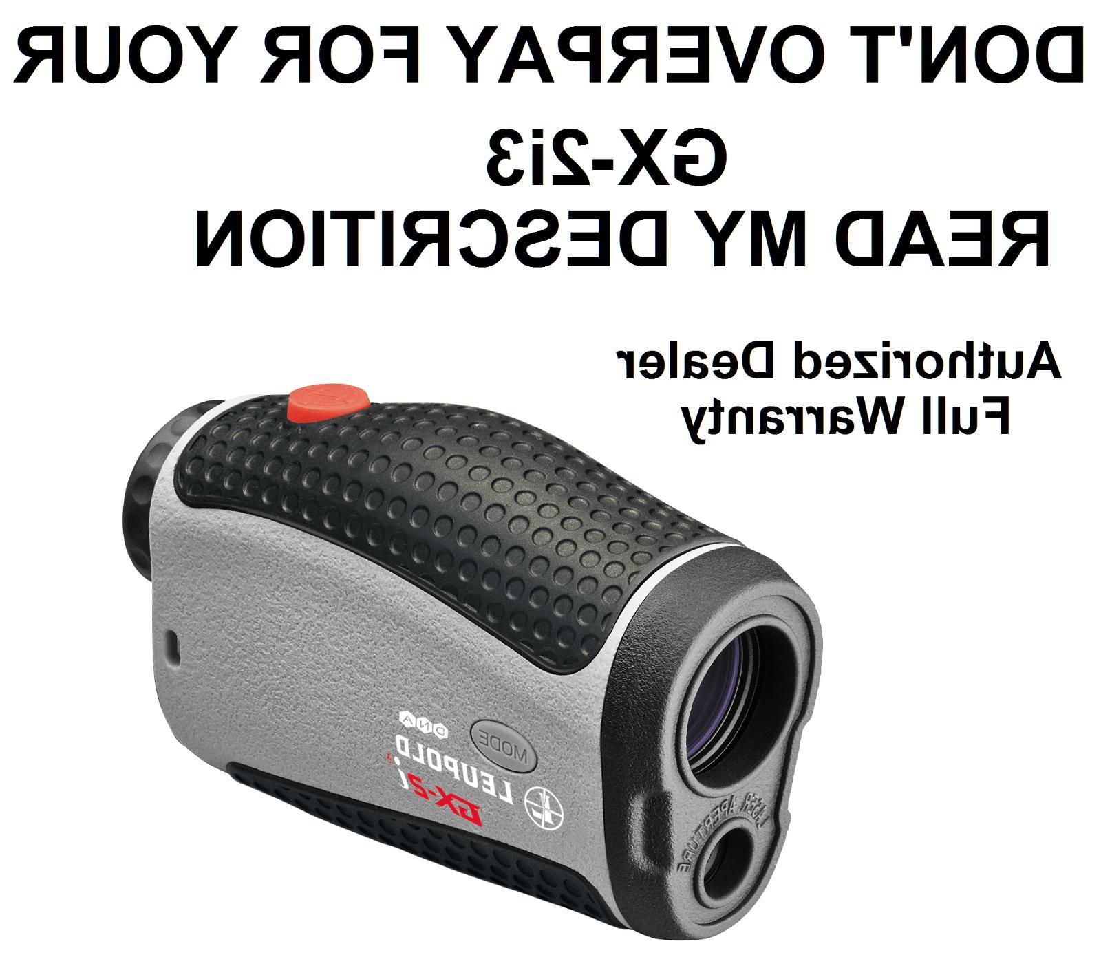 new gx 2i3 golf laser range finder