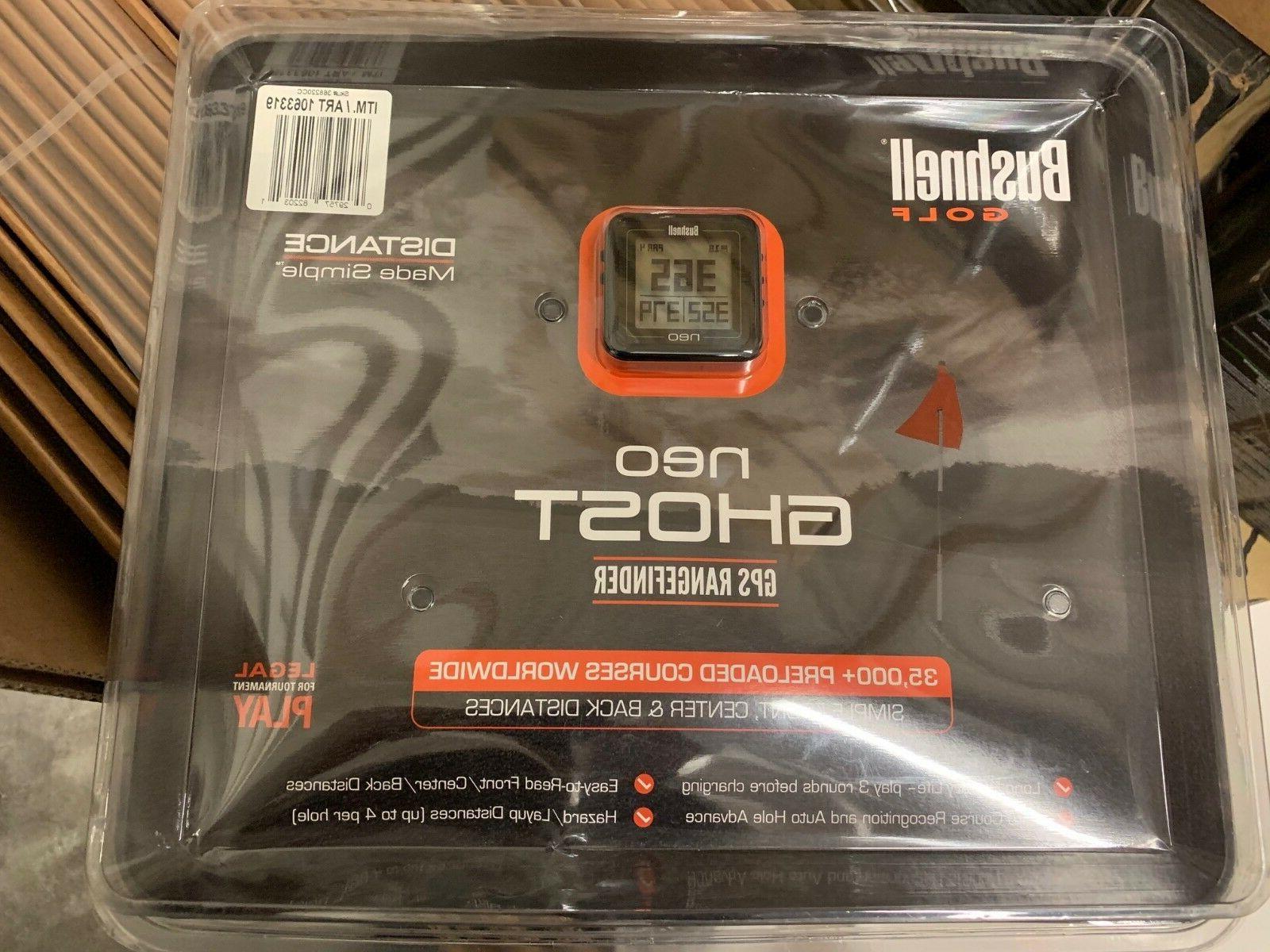 new neo ghost golf gps rangefinder black