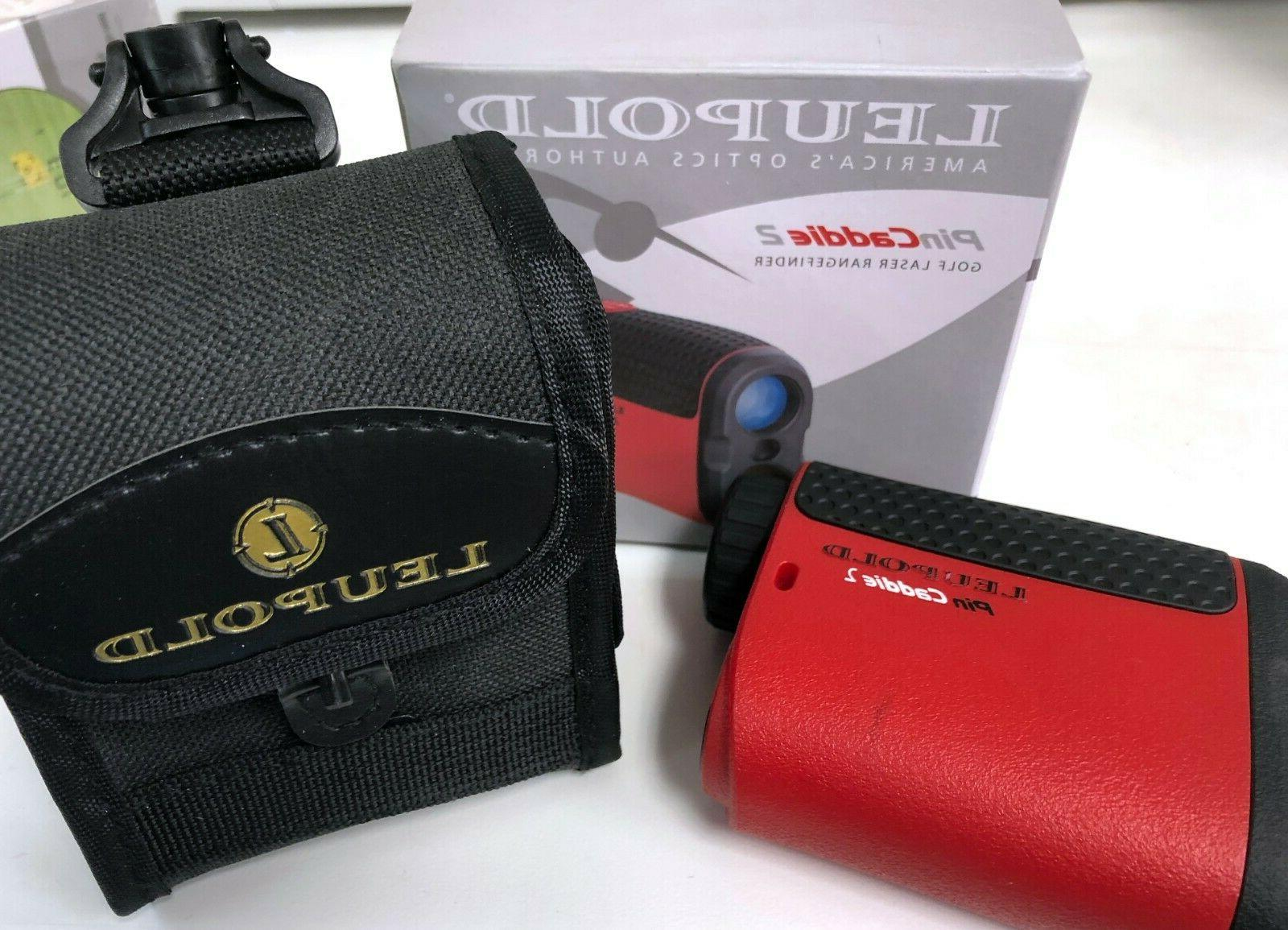 new pincaddie 2 golf laser range finder