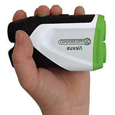 - Nexus Golf Laser Finder Accurate 1 400 Range, 6X Carrying