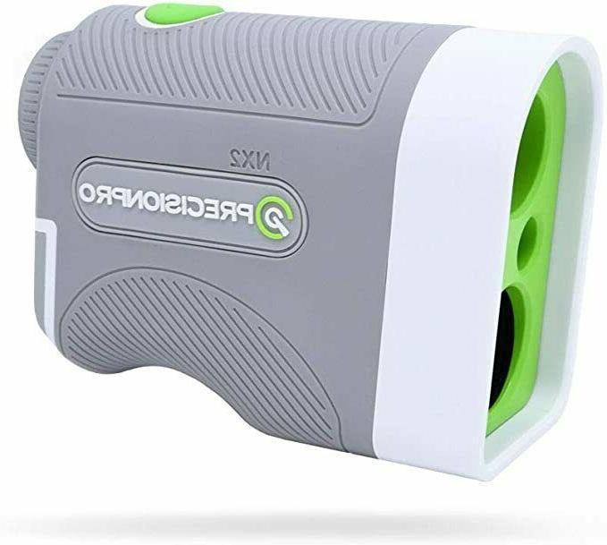 nx2 golf laser range finder non slope