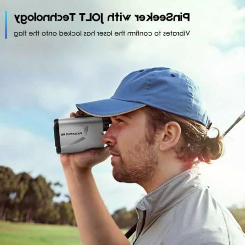 PeakPulse 600A Golf Range Finder seek