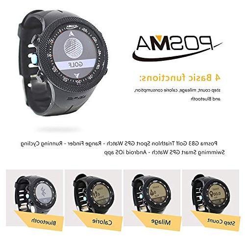 IDS GB3 Golf Triathlon Sport Watch Range Finder GPS Watch for Running Cycling iOS