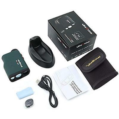 "PRO Golf Rangefinder With Flagpole USB Sports """