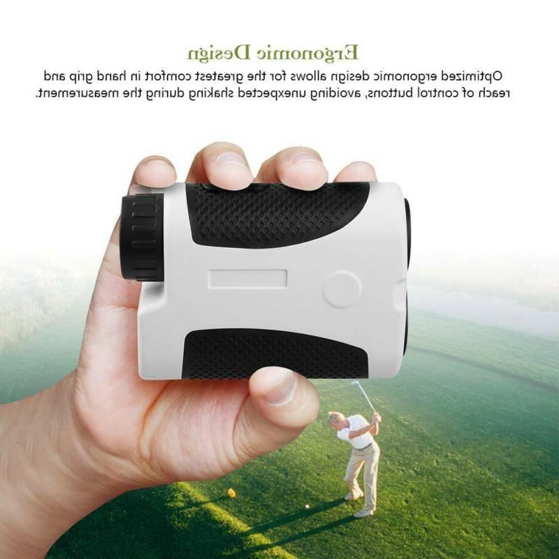 Profession Golf Telescope Digital Laser Finder Slope Binoculars US