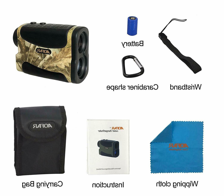 AOFAR Range Finder 1000 Yards Waterproof for Hunting/Golfing