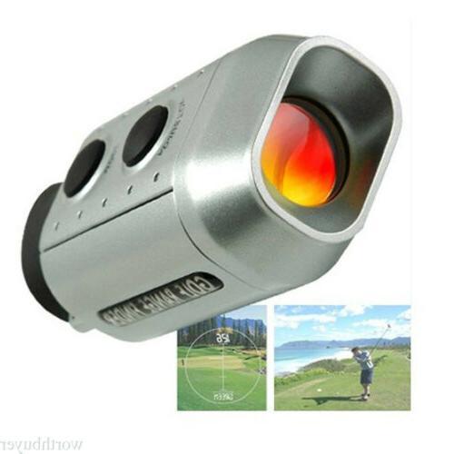 Range Speed Laser Rangefinder Hunting Deer Shooting W