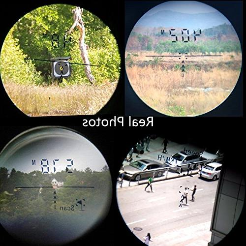 DaZhen Laser Distance meter 1100 Yards Finder Angle, Speed
