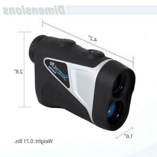 SERENE-LIFE Golf Laser Finder with and Zoom