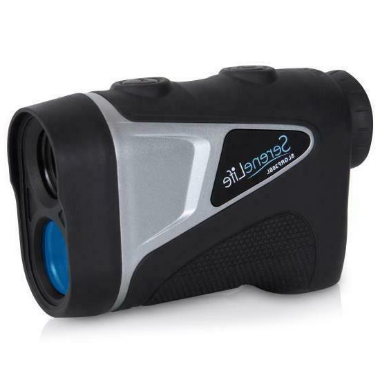 serene life golf laser range finder monocular