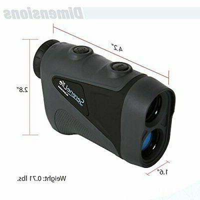 SereneLife Advanced Golf Rangefinder Pinsensor Technology -