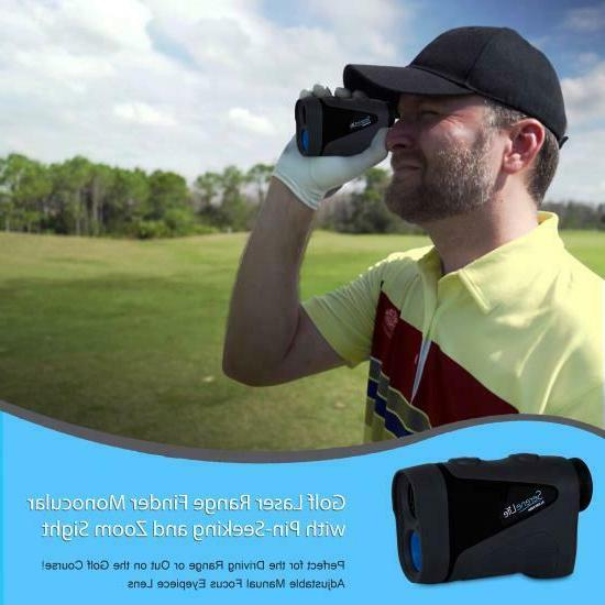 SereneLife Golf Finder Monocular Pin-Seeking and Zoom