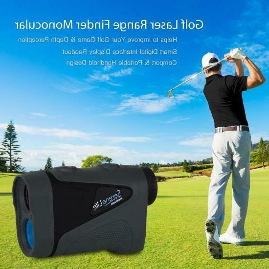 SereneLife Golf Range Finder Pin-Seeking and