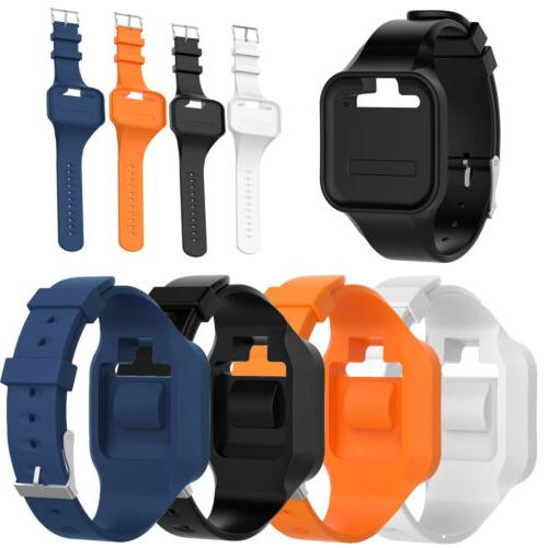 silicone wristband watch band strap for golf