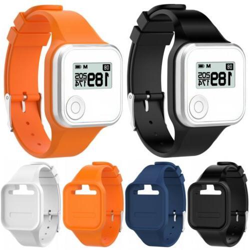 silicone wristband watch strap bracelet for golf