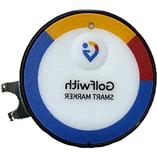 Golfwith Smart GPS Golf Ball with Hat Clip Custom Ball Marker