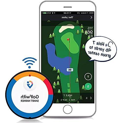 Golfwith Smart GPS Ball with Hat Custom