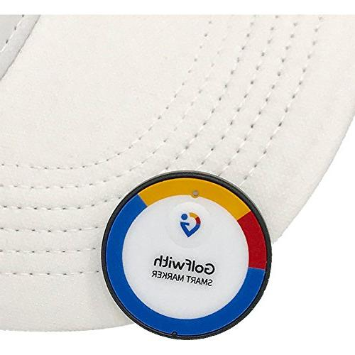 Golfwith Smart Ball Marker, with Hat Custom Marker