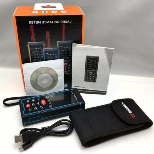 sndway rangefinder rechargeable color display 100m range