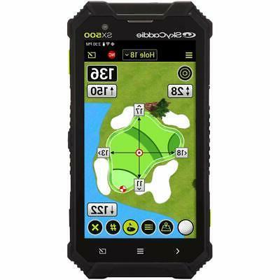 SkyCaddie SX500 Golf Rangefinder Screen