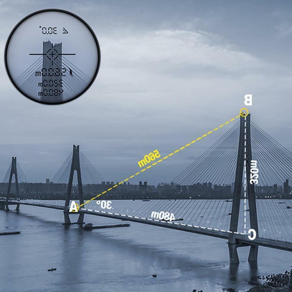 UNI-T Optical Golf Laser Range Finder Telescope Meter