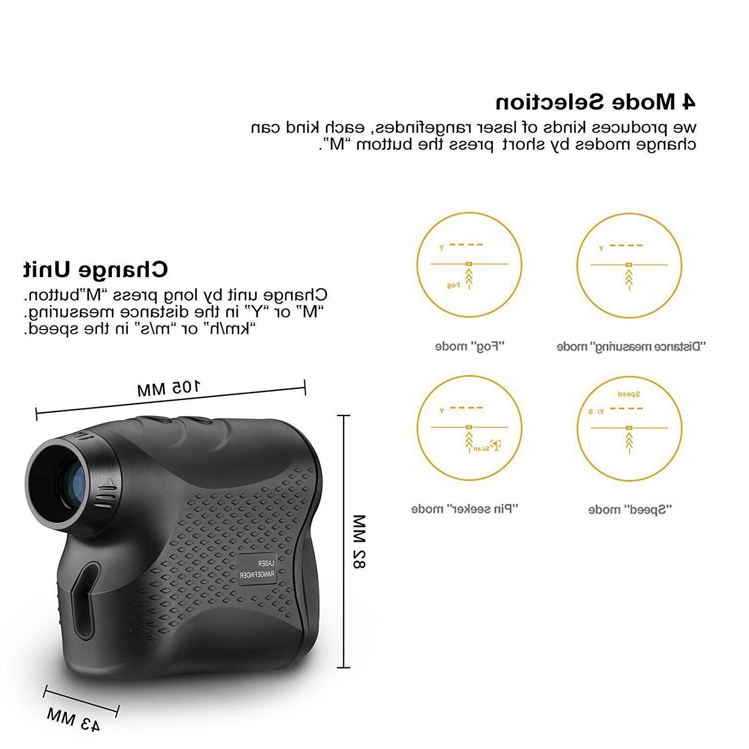 DEKO 600M Digital Laser Range Distance Height Speed