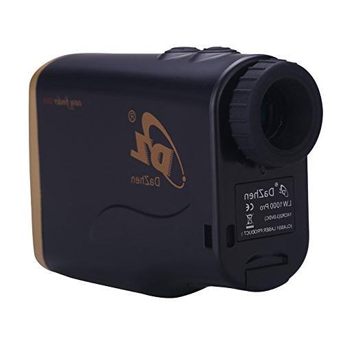 DaZhen Laser Distance Zoom 1100 Range Finder Angle, Speed