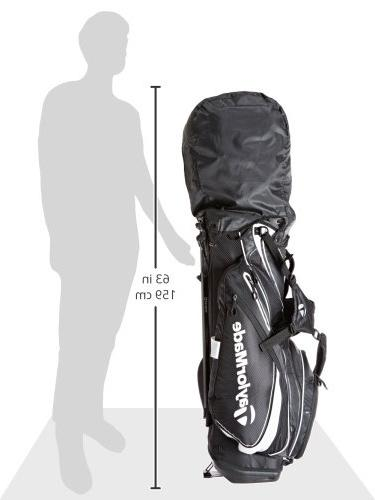 TaylorMade PureLite Stand Bags, Black/White