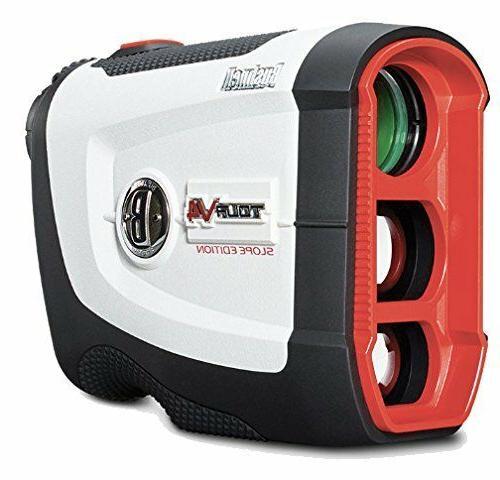 Bushnell Tour V4 Shift Golf Laser Rangefinder Patriot Pack -