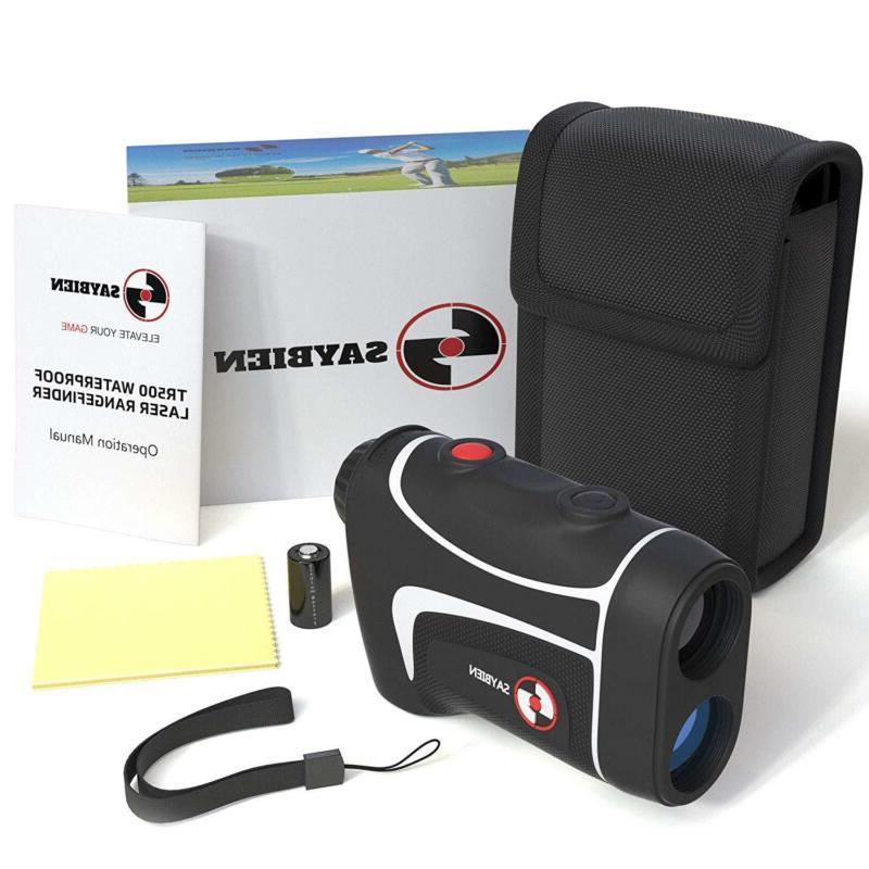 Saybien TR500 Golf Rangefinder Finder with Flag