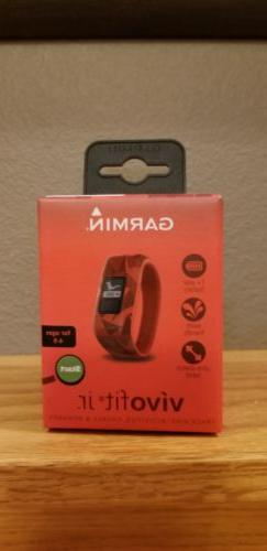 Garmin Vivofit Jr. Activity Tracker Watch 010-01634-00 - Lav