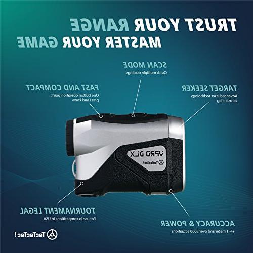 TecTecTec VPRO DLX Rangefinder - Waterproof Range